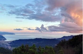 Sunset on Rapallo