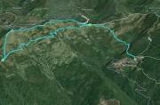 Chignero - Pendici Monte Bello - Monte Bello - Monte Borgo - Passo Serra