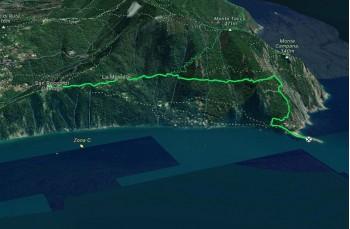 San Rocco - Batterie - Punta Chiappa 3D