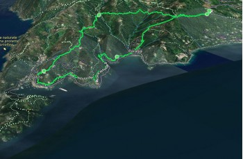 Nozarego - Cappelletta delle Gave - Paraggi - Portofino - Valle Acqua Viva - Nozarego