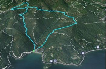 Paraggi - Valle dei Mulini - Olmi - Crocetta - Gave - Paraggi