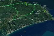 Portofino Vetta - Gaixella - Toca - Semaforo nuovo - San Rocco - Portofino Vetta