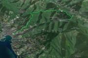 Montallegro - Passo della Crocetta - Rapallo