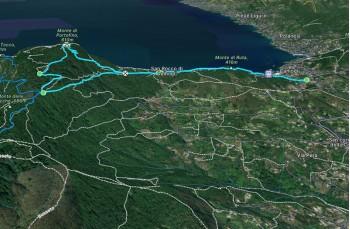 Ruta - Portofino vetta - Semaforo vecchio - Pietre Strette - Ruta