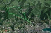 Rapallo - S. Maurizio dei monti - Passo della Crocetta - Pian dei merli - Rapallo
