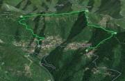 San Quirico d' Assereto - Monte Pegge - Montepegli