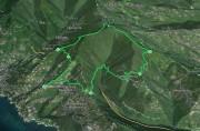 Percorso ad anello San Pietro di Rovereto - Campodonico - Monte Anchetta
