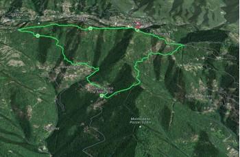 Anello San Quirico di Assereto - Montepegli - Monte Pegge - Pian dei Merli