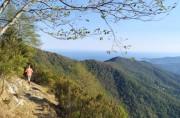 Cornice di Rapallo verso Monte Pegge
