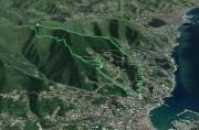 Rapallo - San Bernardo - Monte Castello - Sant' Ambrogio - Rapallo