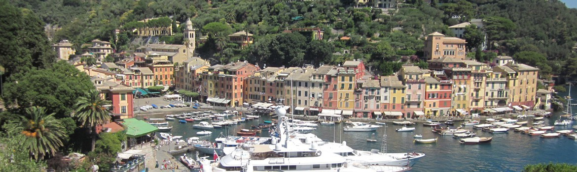 Suggested itineraries starting from Portofino
