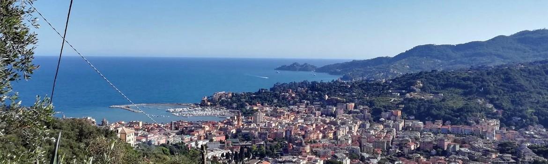 Itinerari a piedi con partenza da Rapallo