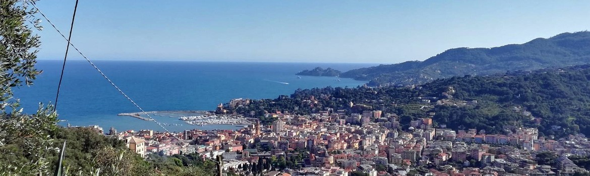 Recommended trekking starting from Rapallo