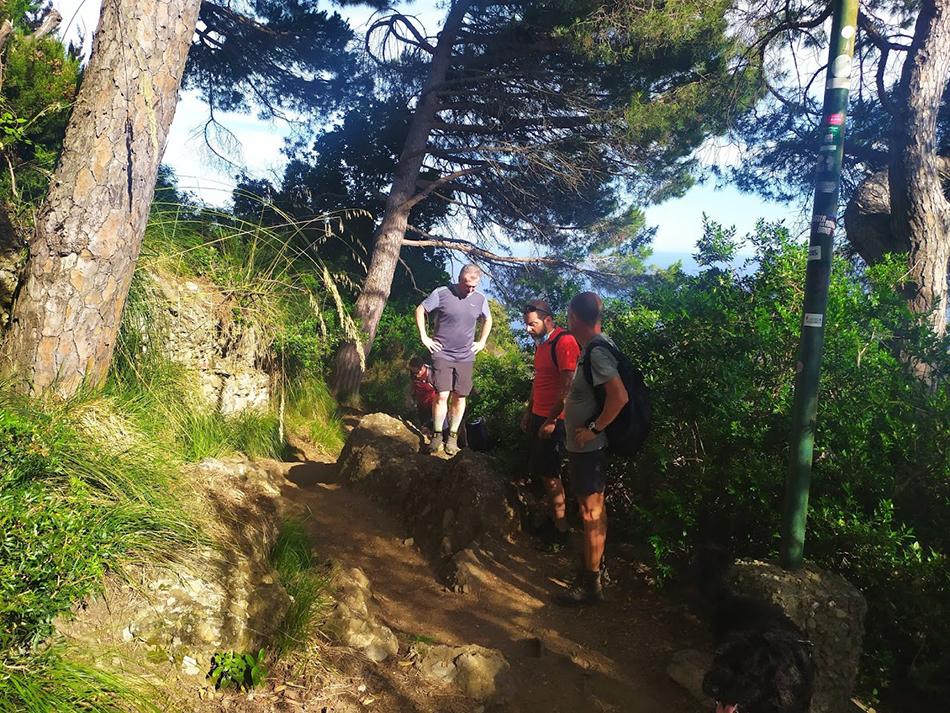 sentiero Portofino san fruttuoso