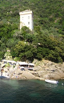 Torre Doria à San Fruttuoso de Camogli