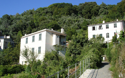 La Mortola San Rocco farmhouse and housing