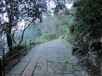 voie piétonne Paraggi - Portofino