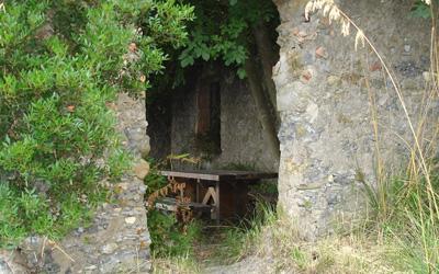 bunker dans le Parc de Portofino