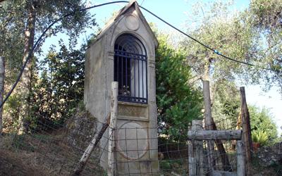 località Cappelletta nel parco di Portofino