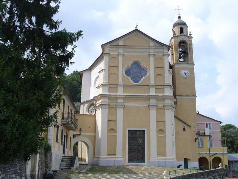 church of Nozarego (Santa margherita Ligure)