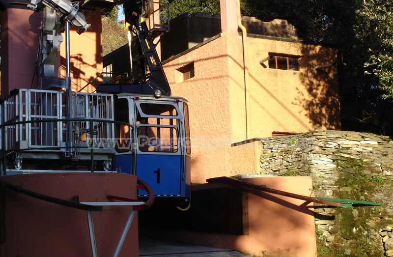 télépherique Rapallo