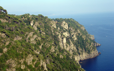 panorama from the Base0-Portofino path