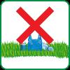 Forbidden to leave trash