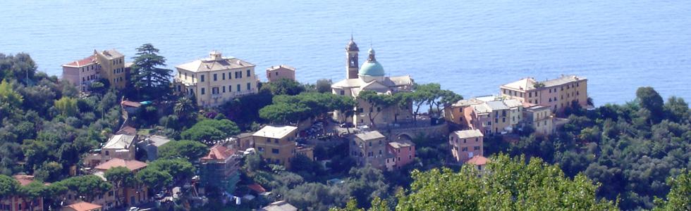 San Rocco di Camogli vista da Portofino Vetta