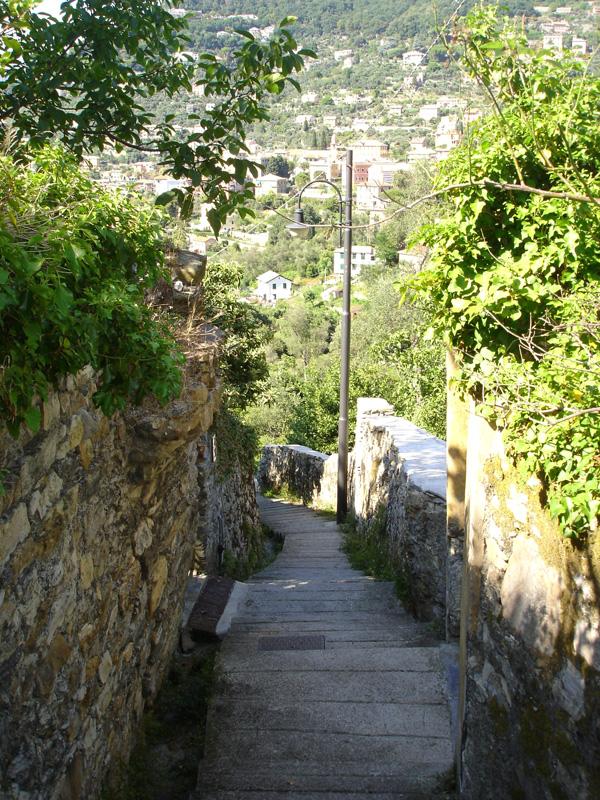 scalinata San rocco - Camogli