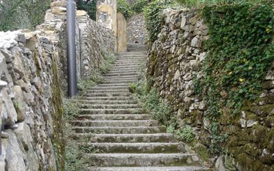 Camogli San Rocco stairway