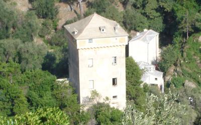 Torreta Doria a san Fruttuoso di Camogli