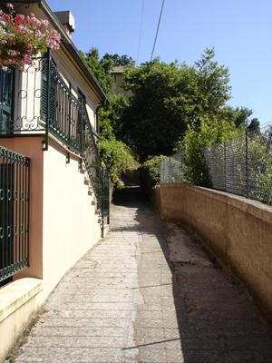via gaixella, ruta di camogli