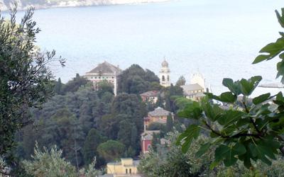 Villa Durazzo seen from the Park of Portofino